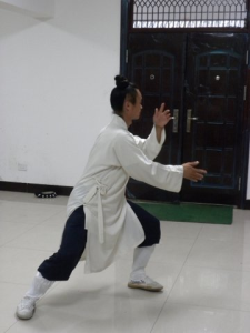 china - tai chi stance