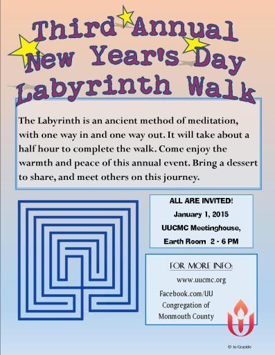 sistercircle labyrinth 2015 flyer