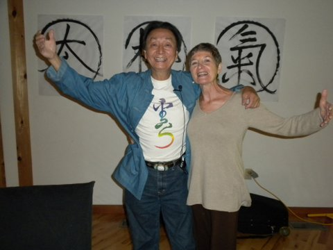 Chungliang Al Huang and Maxine at Omega Institute, Rhinebeck, NY