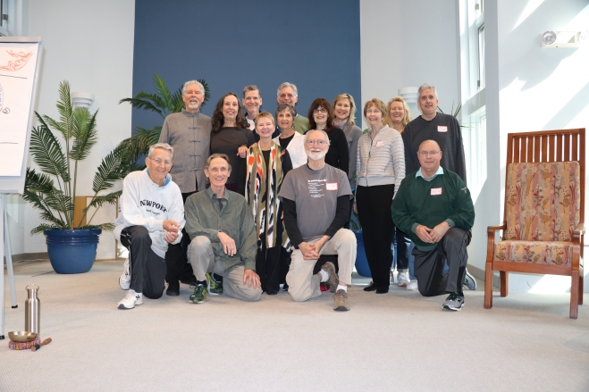best group shot all teachers Roger Jahnke Primordial Qigong WS @ UUCMC w Maxine 4-18 00071.jpg